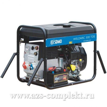 Электрогенератор SDMO Weldarc 300 TDE дизельный