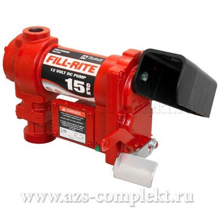 Насос Fill-Rite FR1205GE для дизельного топлива и бензина, 12В, 57 л/мин