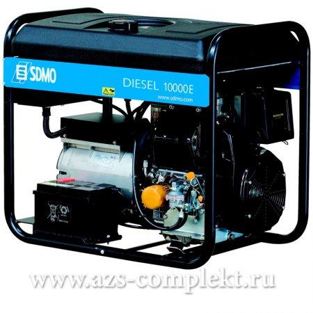 Электрогенератор SDMO Diesel 10000 E дизельный