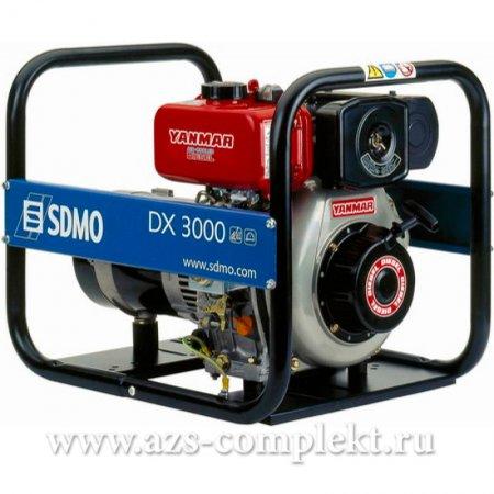 Электрогенератор SDMO DX 3000 дизельный