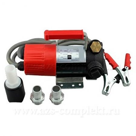 Насос Petroll Vega 60 для перекачки дизельного топлива солярки. 12 В.