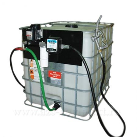 АЗС Мини МТП - Мобильный топливный модуль для дизельного топлива, солярки