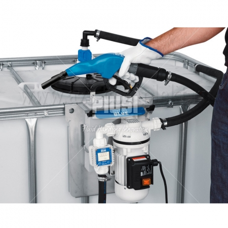 Piusi SuzzaraBlue Pro 12V K24 + Inox nozzle F00201A8A для AdBlue, Мочевины, Карбамида