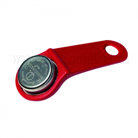 Piusi F1249600A Ключ управляющий, красный