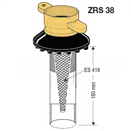 Носик ZRS 38