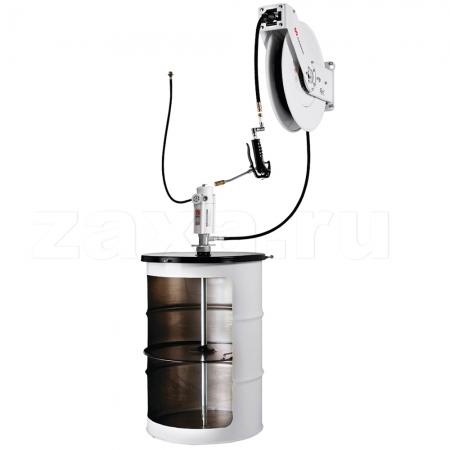 SAMOA 453612 Комплект с пневмонасосом для смазки, 35/60:1, с катушкой