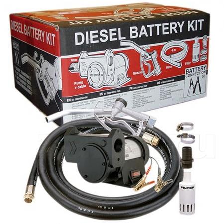 Комплект Gespasa Diesel Battery KIT 12V для дизельного топлива, 12 В