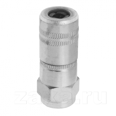 Samoa 121020 Соединитель с запорным клапаном для смазки, Ø 15 мм х 37 мм