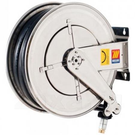 070-2508-520 Meclube Катушка INOX FX-555 из нержавеющей стали со шлангом 3/4