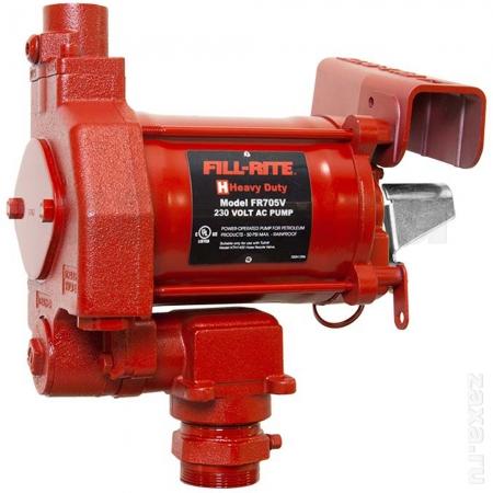 Насос Fill-Rite FR705VE для бензина (220В, 75 л/мин)
