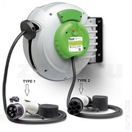MAVEL 808200 ROLL COMPACT EV Катушка с кабелем для зарядки электромобиля