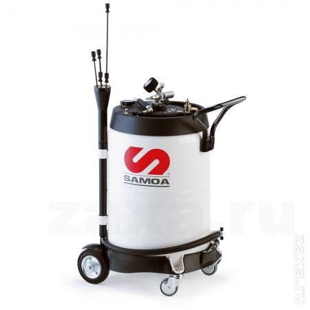 SAMOA 372600 Мобильная установка для откачки отработанного масла, 100л.