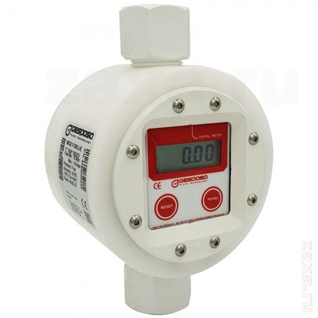Счетчик Gespasa MGE-110BLUE электронный, 10-110 л/мин