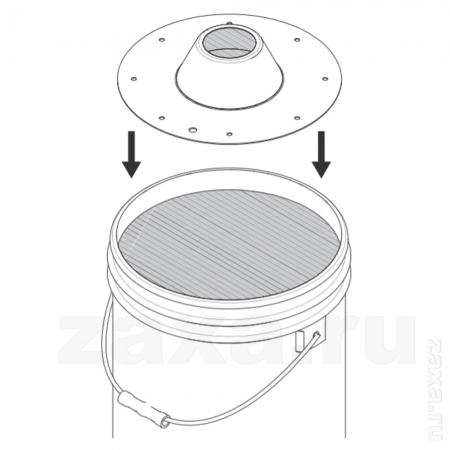 Graco 77x510 Следящая пластина для ёмкости 16 кг