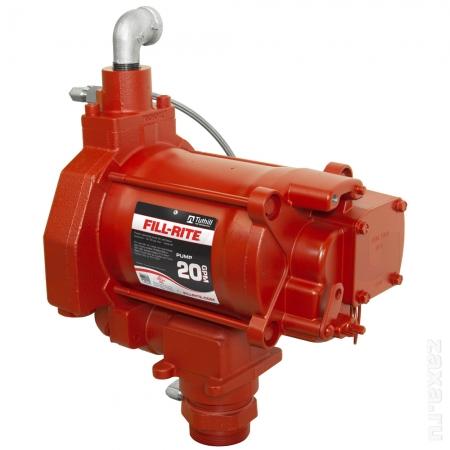 Насос Fill-Rite FR713VE для дизельного топлива и бензина, 220В, 72 л/мин